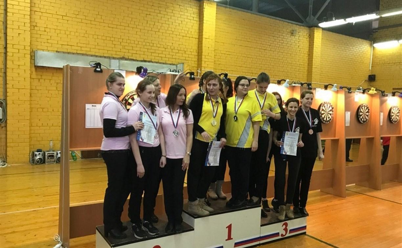 Женская команда из Тулы завоевала бронзу на чемпионате ЦФО по дартсу