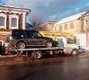Из-за долгов по кредиту приставы арестовали автомобиль жительницы Алексина