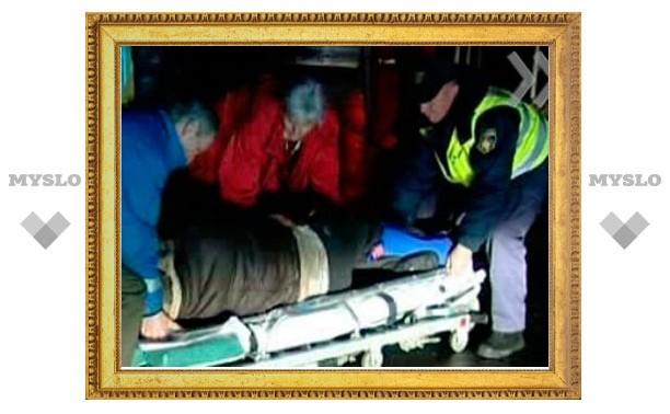 Под Тулой иномарка сбила пешехода