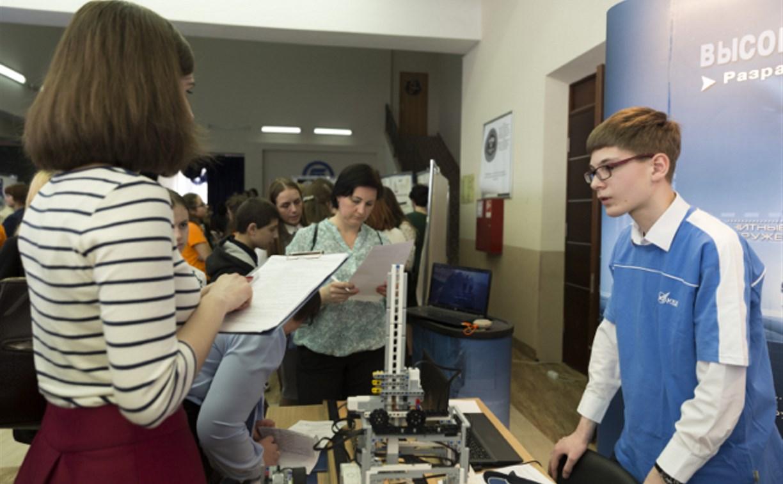 Тульские школьники и студенты приняли участие в городском фестивале профессий
