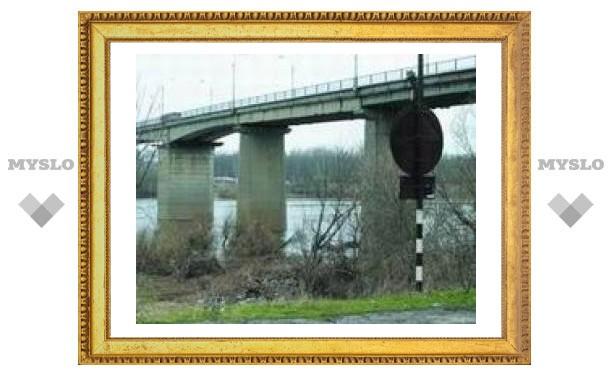 Мост через Оку в Алексине опасен