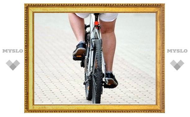 Под Тулой ребенок покалечился, упав с велосипеда