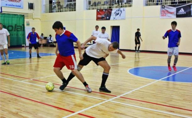 В Туле прошли матчи чемпионата города по мини-футболу среди любителей