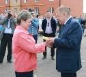 79 семей получили ключи от новых квартир в Кимовске