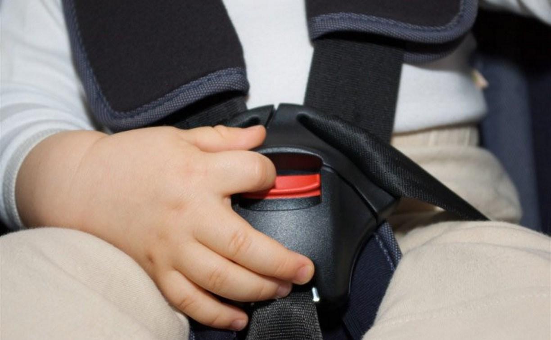 В Туле десять водителей оштрафованы за несоблюдение правил перевозки детей
