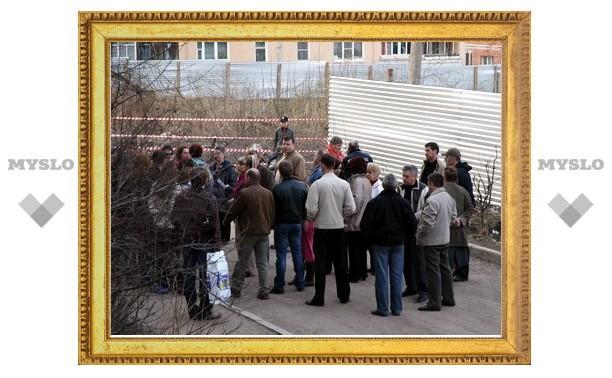 Туляки протестуют против точечной застройки