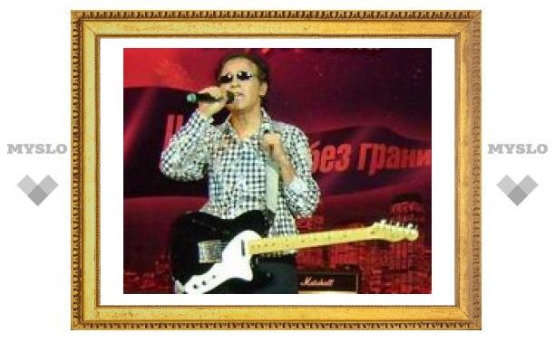 Французский музыкант FR David выступил в Туле