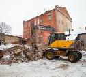 В историческом центре Тулы сносят ветхие постройки: фоторепортаж