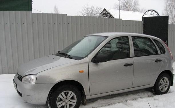 В Тульской области на АЗС столкнулись два автомобиля