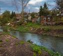 В центре Тулы жители стирают белье прямо в реке