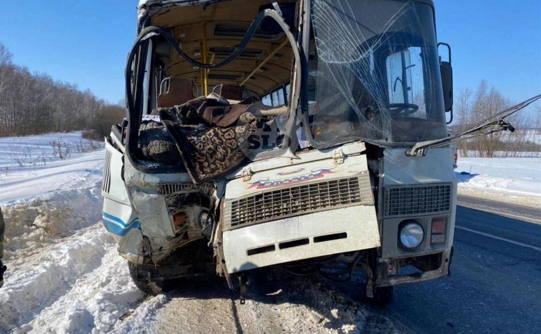 Тульский минздрав рассказал о состоянии пострадавших в жестком ДТП с маршруткой и автобусом