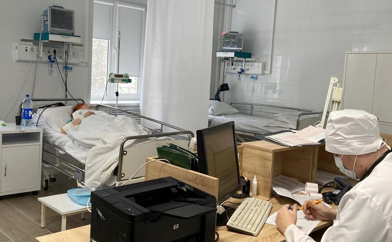 Более 100 пациентов прошли лечение в новом сосудистом центре на базе тульской больницы