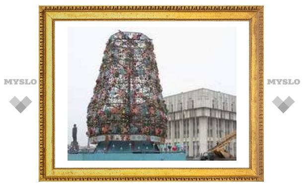 Главная елка Тулы начнет работать 26 декабря
