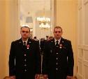 Алексей Дюмин наградил сотрудников Росгвардии, которые задержали косогорского убийцу