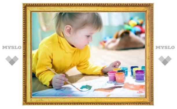 В Туле дети рисуют музыку