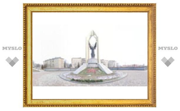 Памятник в п. Менделеевский