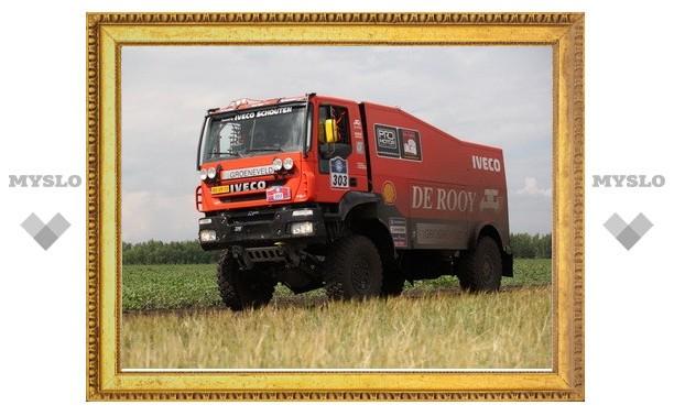 Тульские дороги сломали легенду Dakar
