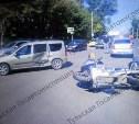 ДТП с мотоциклом на ул. Оборонной: мотоциклист выехал на красный