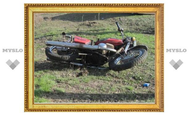 Под Тулой мотоциклист протаранил ЗИЛ