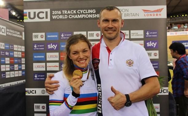 Тулячка Анастасия Войнова завоевала два золота на чемпионате мира по велоспорту на треке