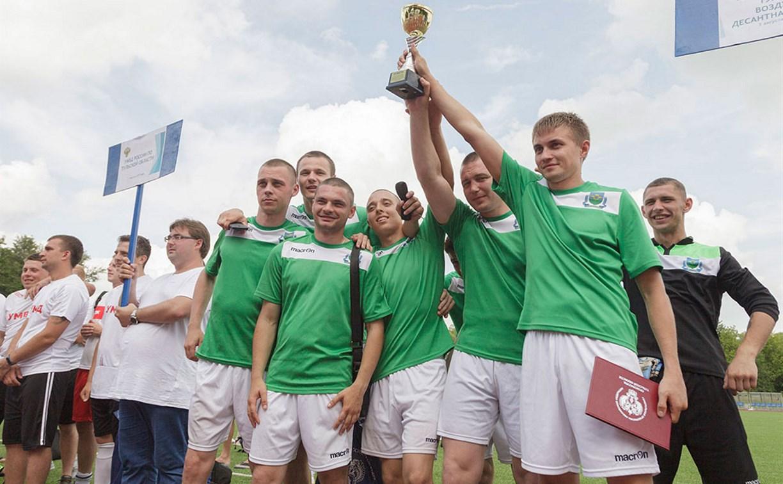 В Туле прошел турнир по мини-футболу среди сотрудников правоохранительных органов