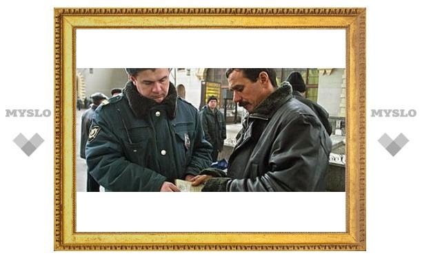 В Туле задержали узбека-дезертира
