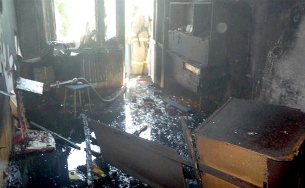 В Куркино едва не погиб хозяин горящей квартиры