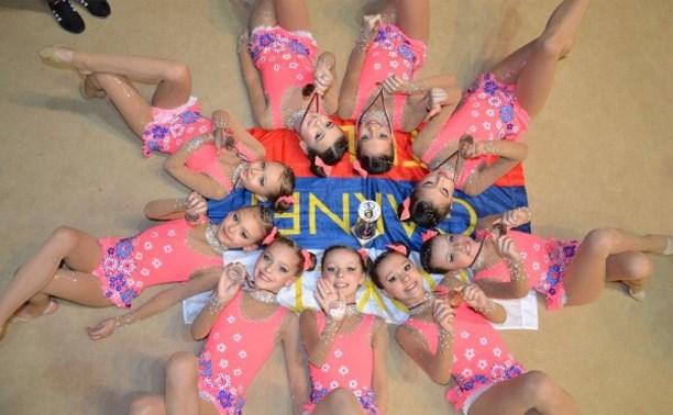 Тулячки одержали победу на Первенстве России по эстетической гимнастике