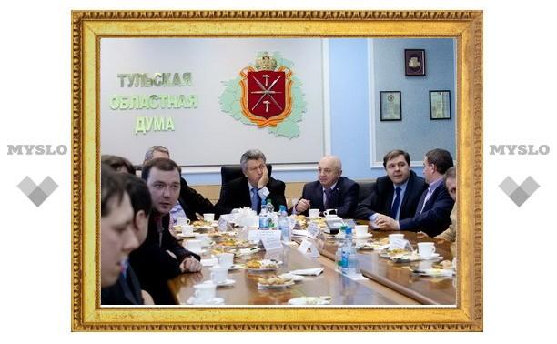 Тульские депутаты – молодым ученым: а какая польза от ваших разработок нашему региону?