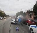 В Туле на улице Октябрьской столкнулись «Форд» и «Опель»
