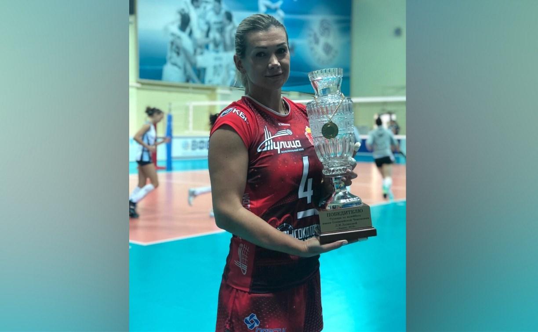 Волейболистки «Тулицы» выиграли Кубок Логиновой