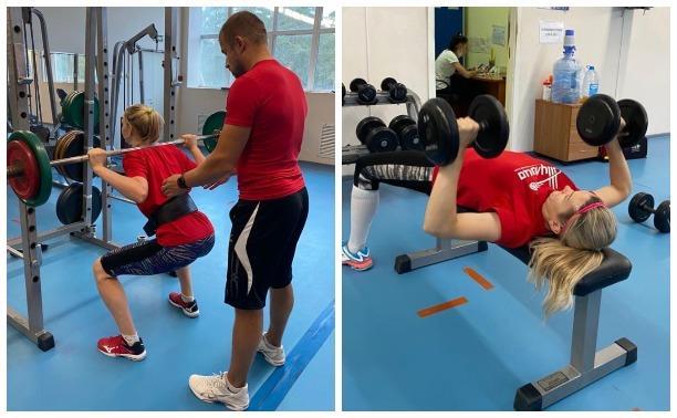 Волейбольная «Тулица» готовится к сезону в Подмосковье: фоторепортаж