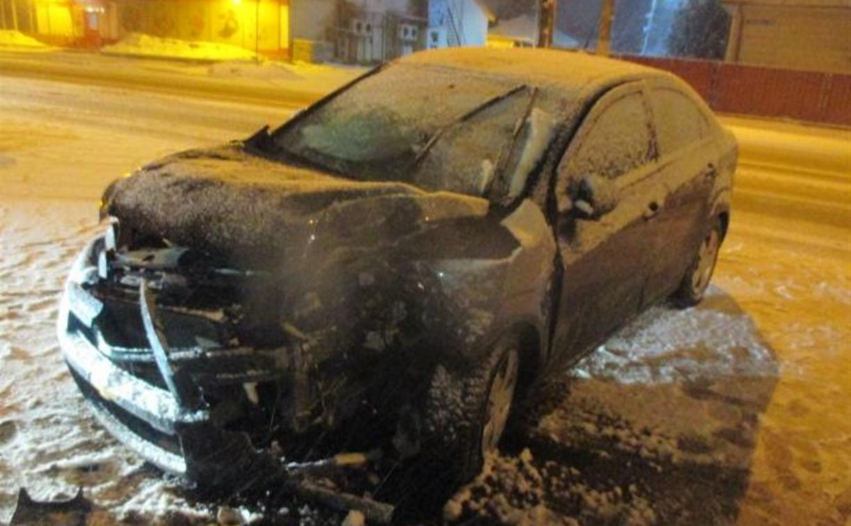 В снегопад произошло два серьезных ДТП с пострадавшими