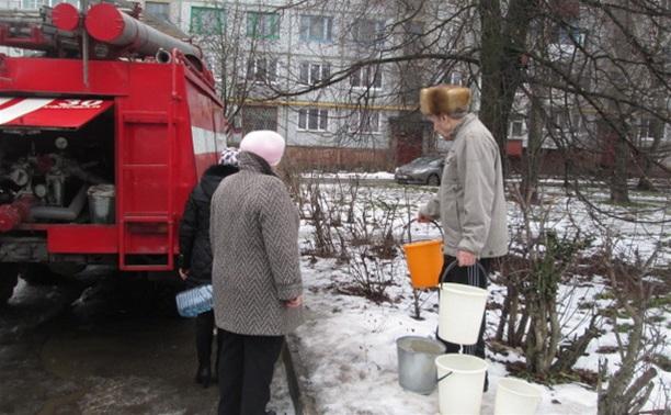 Для жителей Узловой организован подвоз воды