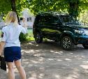 Рейд в Туле: Припарковался на газоне? Заплати 2000 рублей штрафа!