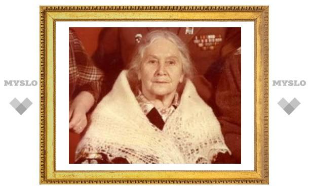 Тулячка отметит 100-летний юбилей