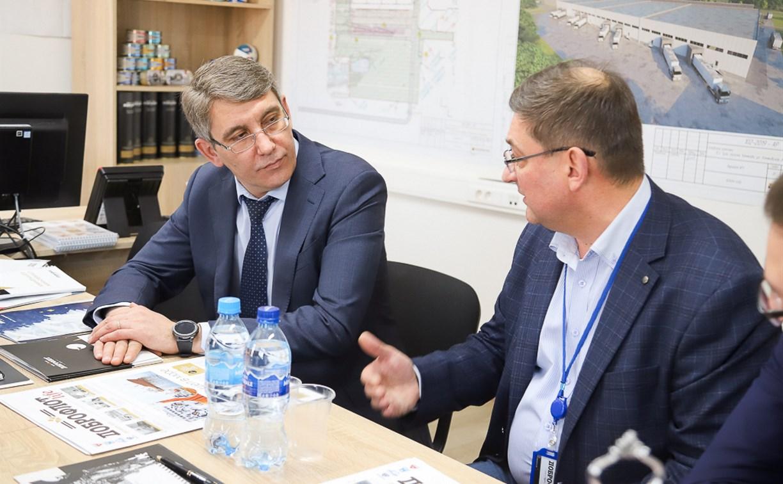 Дмитрий Миляев: «Инвестиционные проекты важны для Тулы»