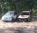 В Тульской области ночью сгорели сразу четыре автомобиля