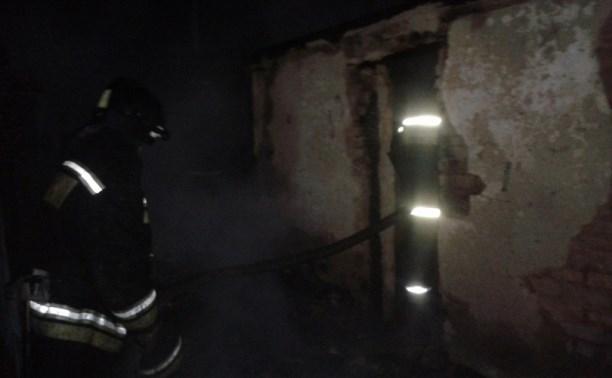 В Новомосковске на пожаре погиб мужчина