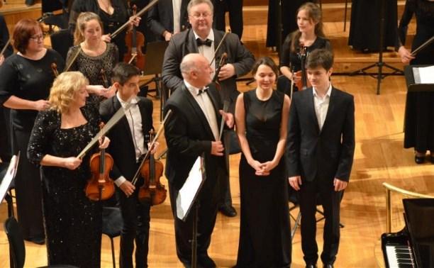 Оркестр Новомосковского музыкального колледжа выступил с концертом в Казани