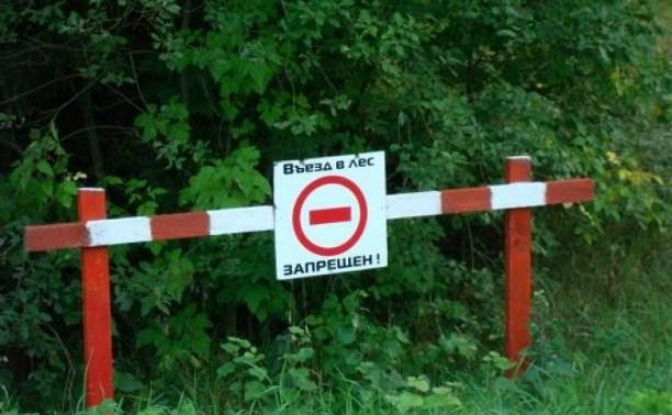 Особый противопожарный режим в Тульской области вводится на пять дней