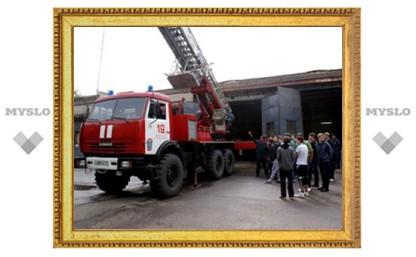 Тульские пожарные открывают свои двери