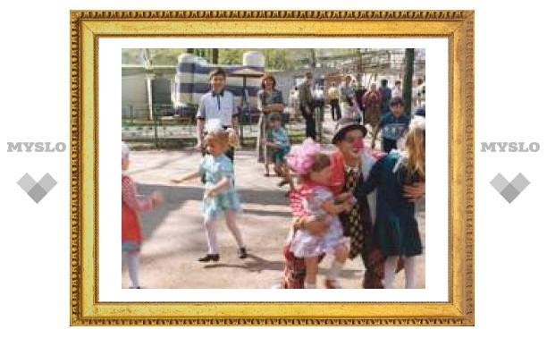 В Комсомольском парке Тулы откроют детский городок