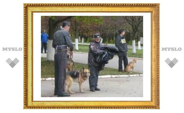 В Туле соревновались милиционеры