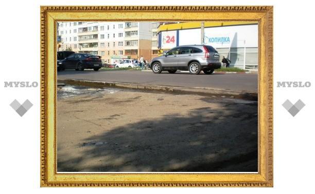 Тульские дороги - убийцы для подвесок
