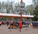 Детская железная дорога Новомосковска открыла сезон-2016
