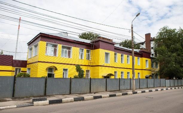 Со здания тульского дома ребенка так и не сняли ядовито-желтый сайдинг
