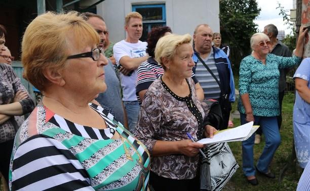 Дома на ул. Пировской в Туле подключат к водопроводу