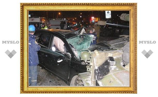 Тулячка-виновница аварии с самоходкой нарушала ПДД 22 раза