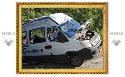 Тульская студентка вывалилась из окна маршрутки во время аварии